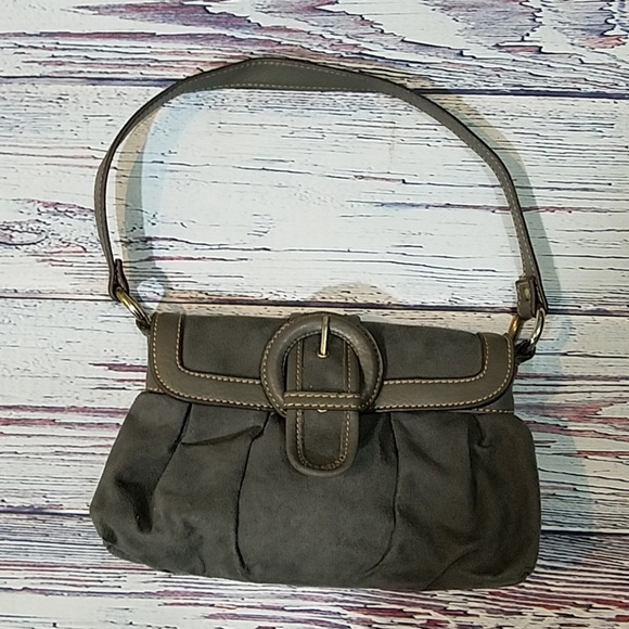 unidentified Handbags - Suede Gray Purse